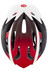Bell Crest hjelm unisize rød/sort